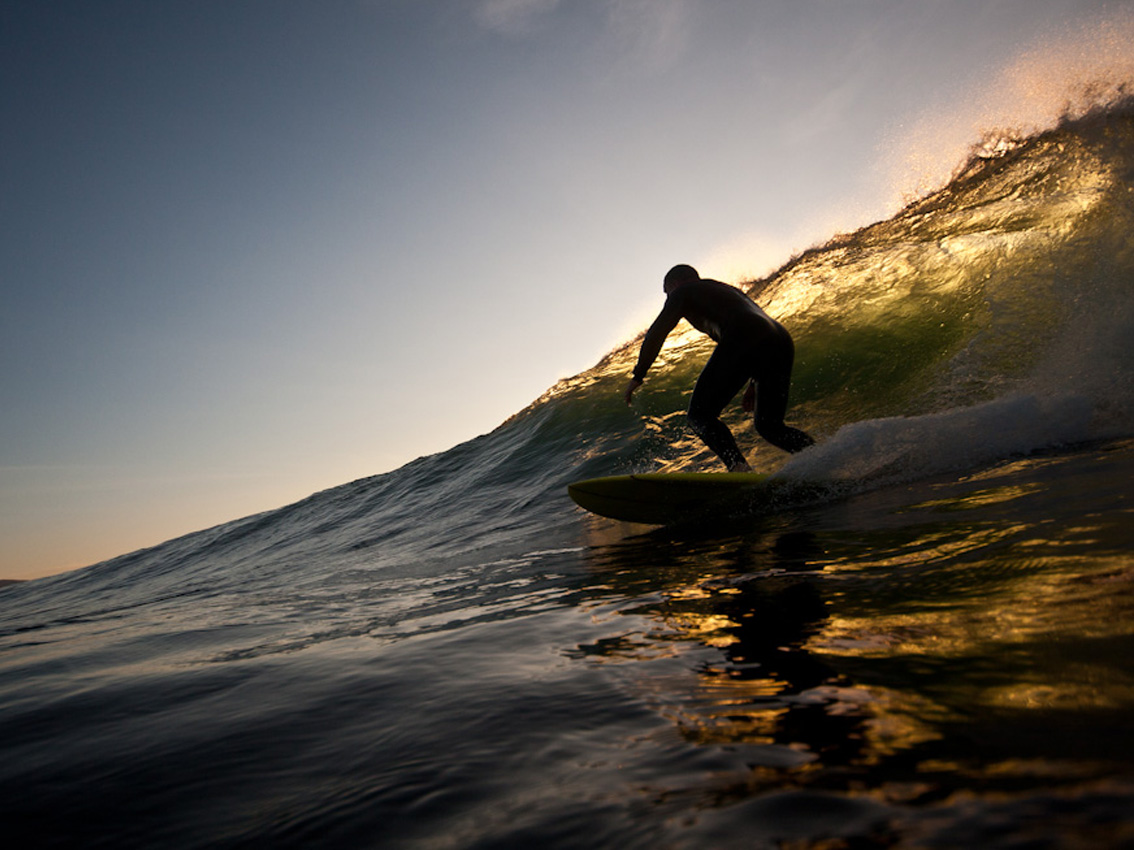 Surfing, fishing, walking - the ideal destination